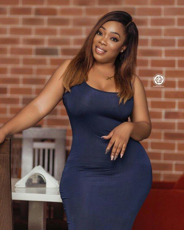Ghanaian actress Moesha Boduong