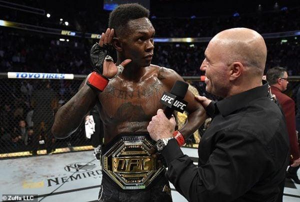 Nigerian UFC fighter