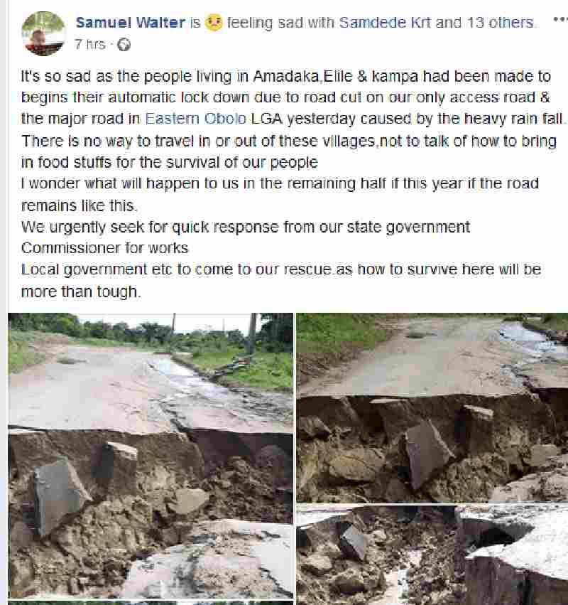 Problem in Akwa Ibom state