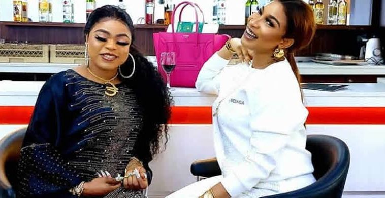 """I Promise to be loyal to you till death do us part' – Bobrisky tells Tonto 3"
