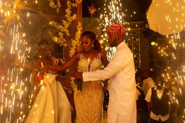 Adebola Williams Wedding picture
