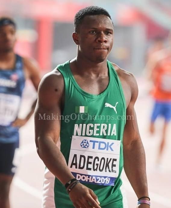 Enoch Adegoke Biography